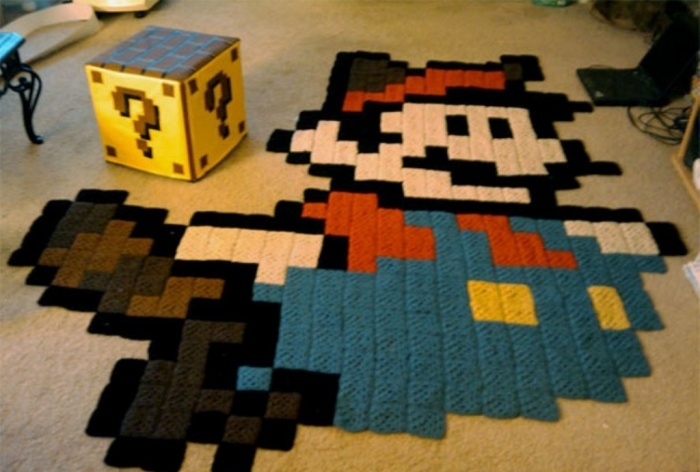 Creative-Carpets-Mario Exotic and Creative Carpet Designs for Your Unique Home