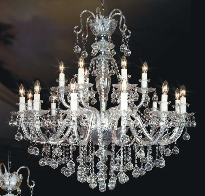 Crystal-Candle-chandeliers-wholesales-chandeliers-crystal-chandeier-with-balls-free-shipping Choosing The Perfect Chandelier