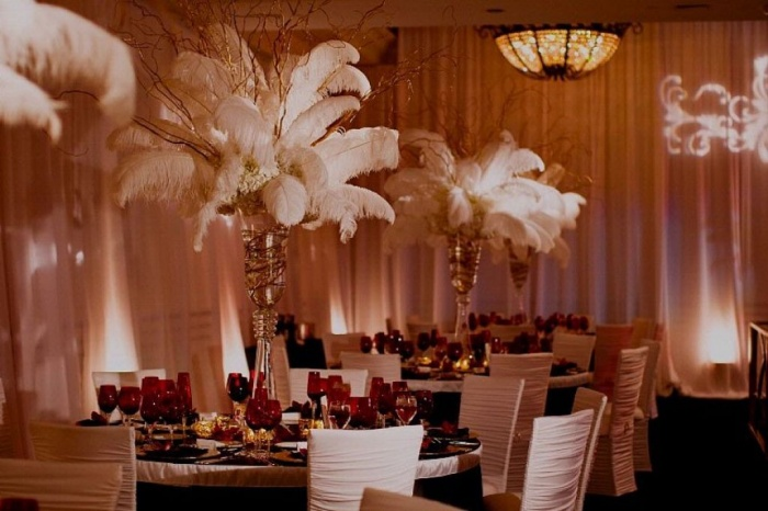 Decorating-Ideas-For-Wedding-Reception-Halls 50 Fabulous and Breathtaking Wedding Centerpieces