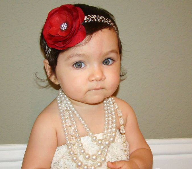 Deep-Red-leopard-print-flower-headband-1024x901 Babies' Charming Hairstyles