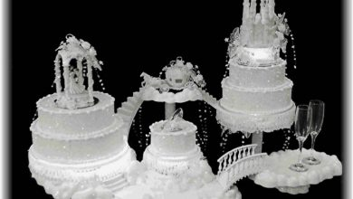 Photo of 50 Mouthwatering and Wonderful Wedding Cakes