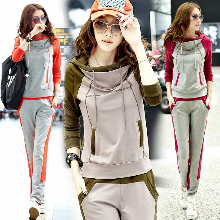 Fashionable-Ladies-sportswear-sweatshirt-casual-set-leisure-set-women-s-autumn-wear Collection Of Sportswear For Women, Feel The Sporty Look
