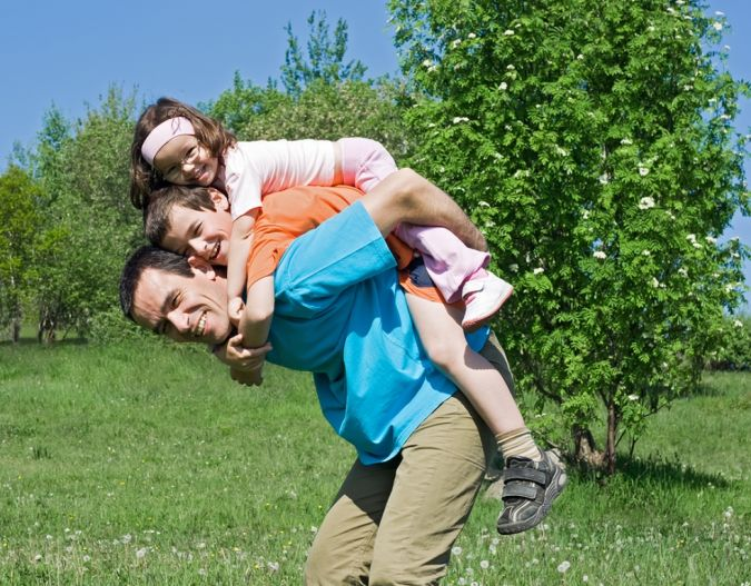 Father_With_His_Children To Whom Is the Custody of Children Ordered?