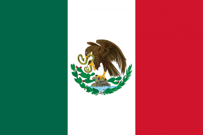 Flag_of_Mexico_1917 Recognize Flags Of 30 Countries