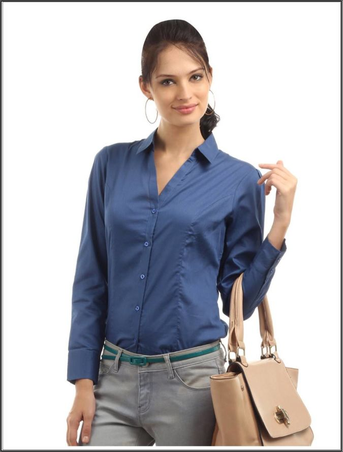 Formal-Shirt-For-Women-2013 Most Popular Formal Clothes For Women