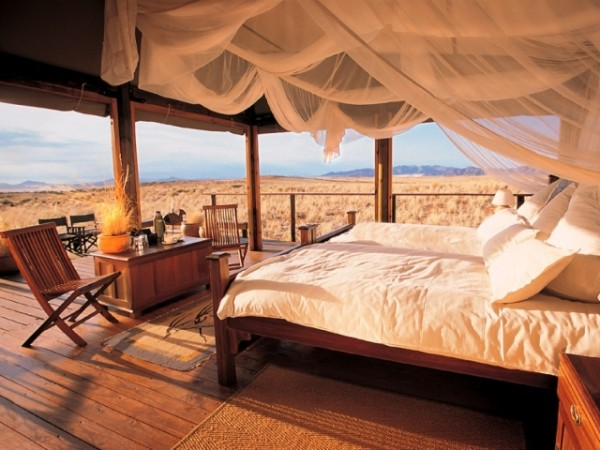 Four-poster-safari-style-glamping-600x450 Top Creative Romantic Ideas For Your Sweetheart