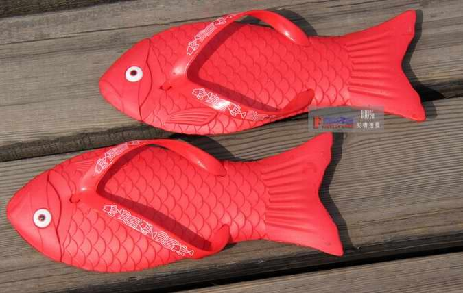 Free-shipping-Fish-Slippers-new-fashion-ladies-slippers-sandals-eva-sandals-summer-slippers 15 Most Popular Fish Flops