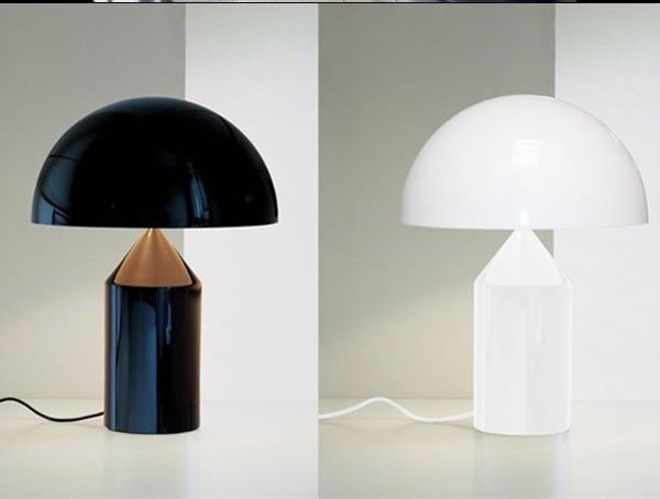 Free-shipping-Moooi-ATOLLO-modern-black-glass-Table-Lamp-one-piece Choosing The Perfect Side Lamp For Your Home