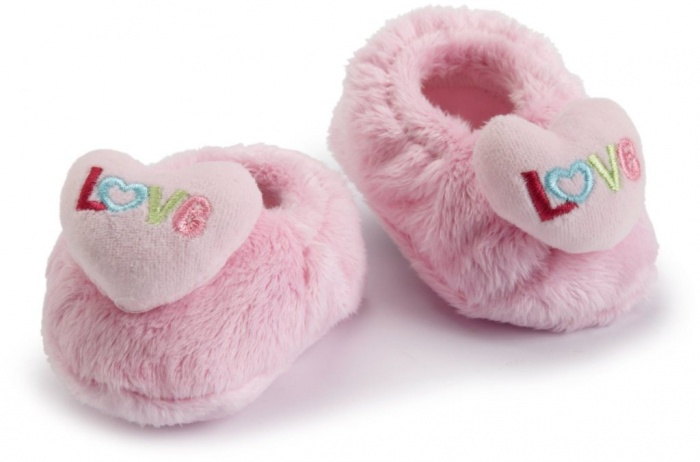 Gerber-Baby-Girls-Hearts-Velboa-Bootie1 TOP 10 Stylish Baby Girls Shoes Fashion