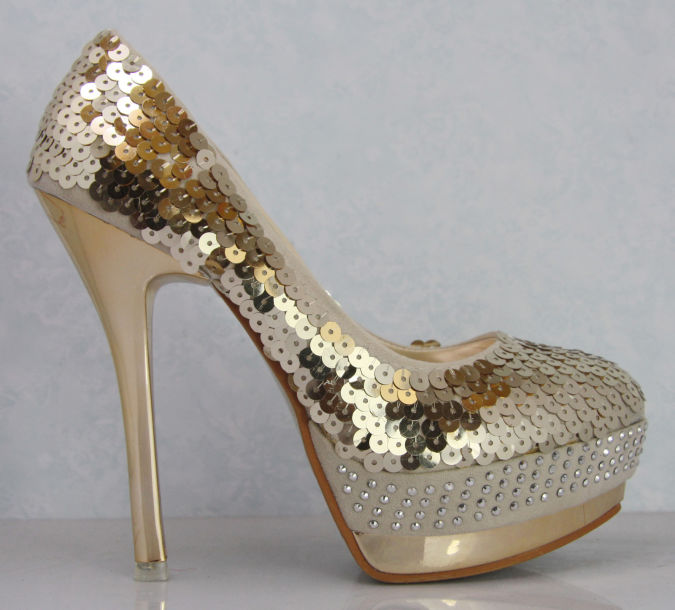 Gold-red-women-s-shoes-woman-2012-pumps-single-fashion-paillette-platform-high-heel-shoes-wedding Wearing High Heels Makes You Look Slimmer