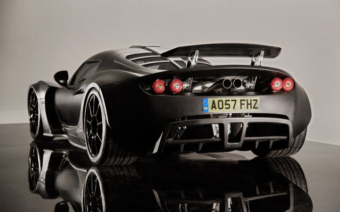 Hennessey-Venom-GT-Front-Back-Image Top 10 Fastest Cars in the World
