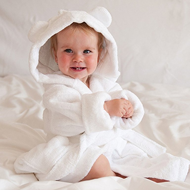 Hooded-Robe-with-ears-1 10 Fabulous Kids Bathroom Accessories