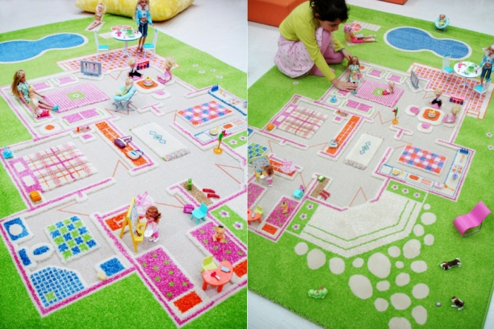 IVDollHouseDetail Exotic and Creative Carpet Designs for Your Unique Home