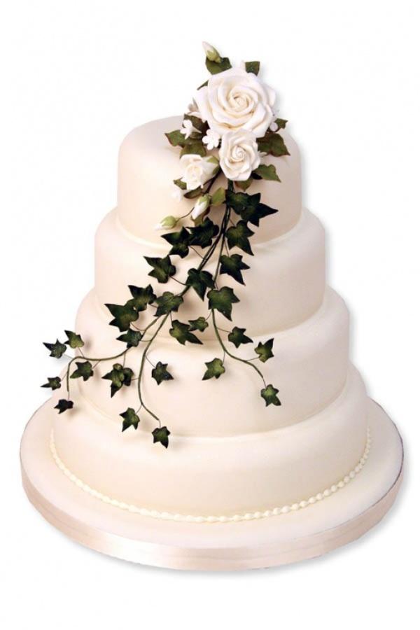 Iced-Wedding-Cakes 50 Mouthwatering and Wonderful Wedding Cakes