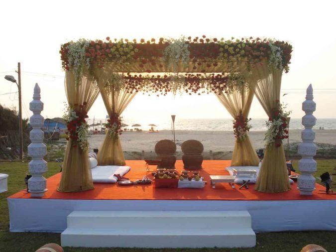 Indian-Wedding-Mandap-Decoration4 Wedding Planning Ideas