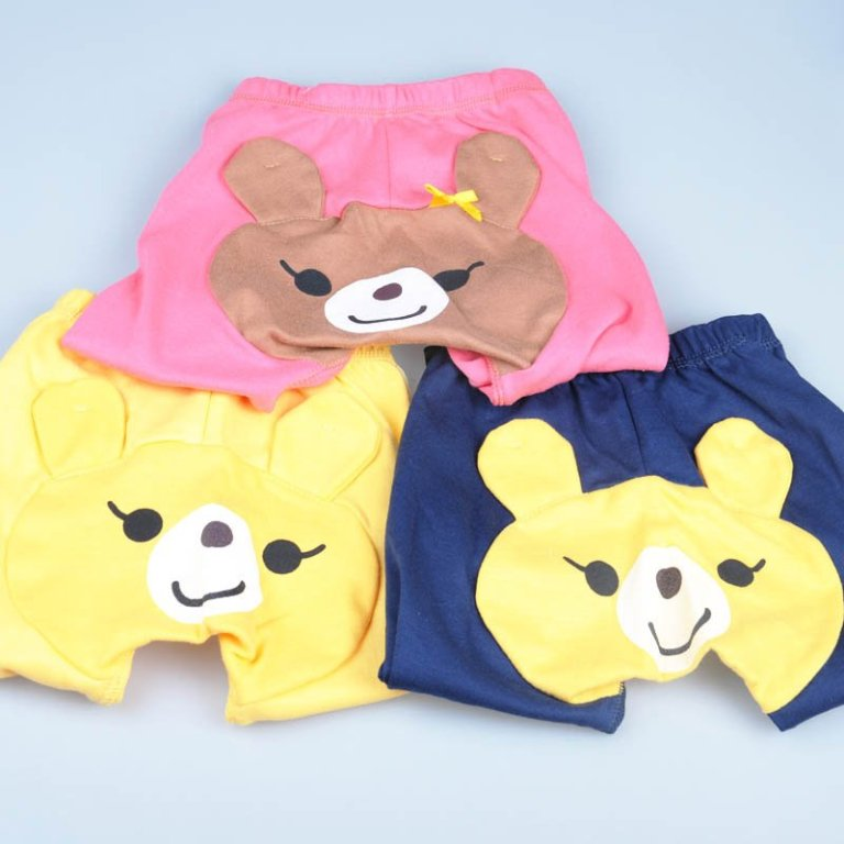 Infant-Baby-Girl-Toddler-Cute-Bear-Strawberry-Legging-PP-Pants-Cute-Pants-2 30 Cutest Baby Girl Pants