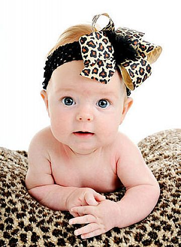 Infant-Hair-Bows-Headbands-for-Baby-Girls Babies' Charming Hairstyles