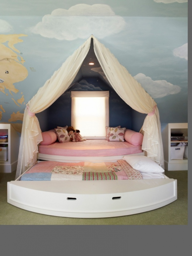 Inspiring_kids_bedrooms_8 11 Tips on Mixing Antique and Modern Décor Styles