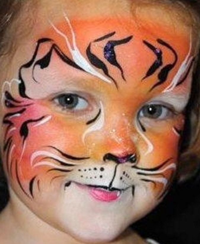 Interesting-Face-Painting-Plan-and-Concept Latest Make Up Art For Kids