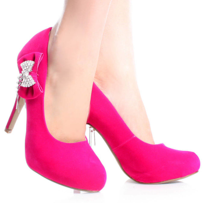Ivori-89-Pink-Suede-Womens-Designer Wearing High Heels Makes You Look Slimmer