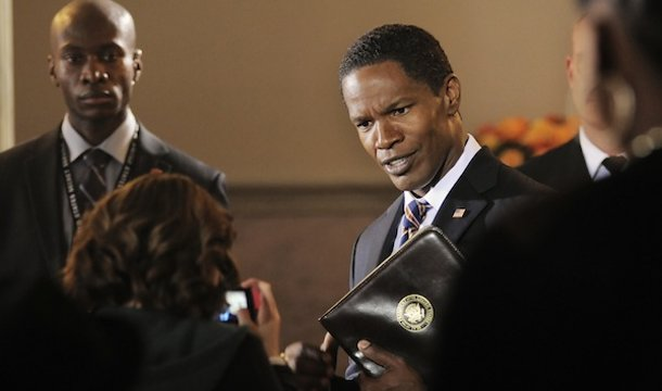 "Jaime-Foxx-Portrays-Obama-esque-Character-in-White-House-Down-Trailer ""White House Down"" Is An American Action Film"