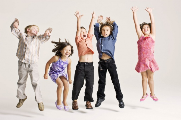 JumpingGirls_HiRes Most Stylish American Kids Clothing
