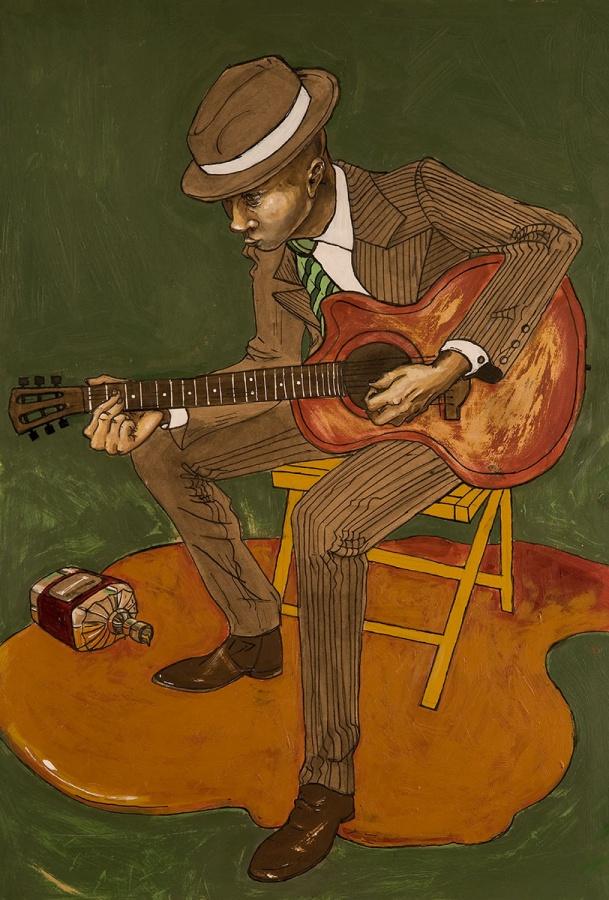 KaitlinZiesmer.GuitarPlayer.FineArts_SFW 20 Paintings Of Fine Art