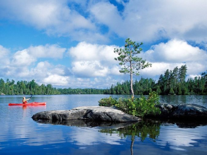 Kayaking_in_Boundary_Waters_Canoe_Area_Wilderness_Minnesota What Is the Importance of Survival Courses?