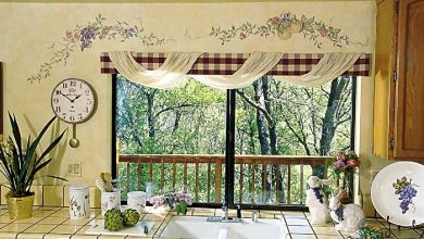 Photo of Kitchen Window's Curtain For Privacy And Decoration