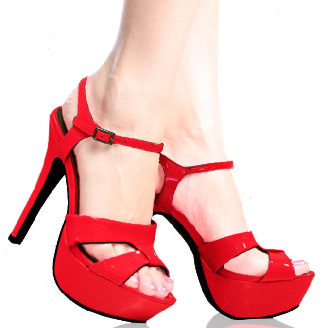 Lagdo-S-Pink-Patent-Womens-Designer Wearing High Heels Makes You Look Slimmer