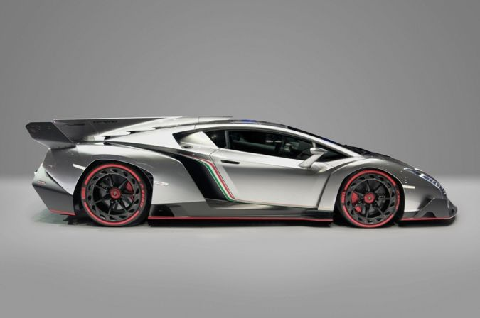 Lamborghini_Veneno_Car_Zero_profile Top 10 Most Expensive Cars in the World