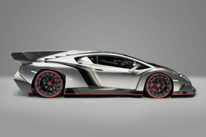 Lamborghini_Veneno_Car_Zero_profile Top 10 Most Expensive Cars in the World