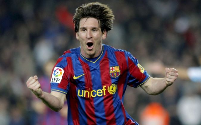 Lionel-Messi. Top 10 Football Players