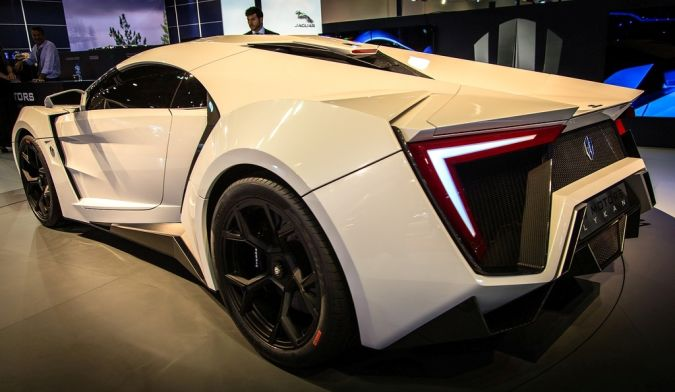 Lykan-Hypersport. Top 10 Most Expensive Cars in the World