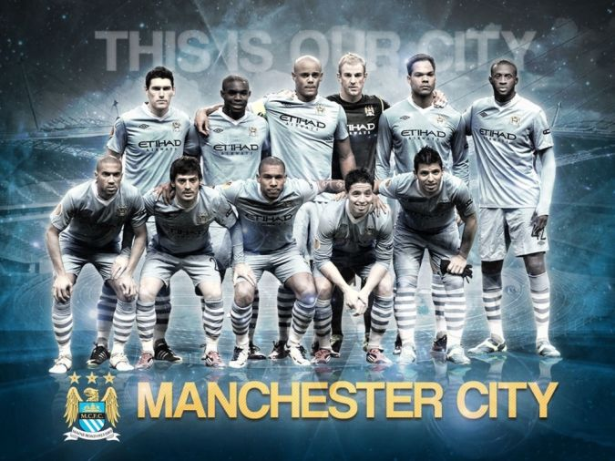 Manchester-City-Team-Squad-2013-2014 Top 10 Football Teams in the World