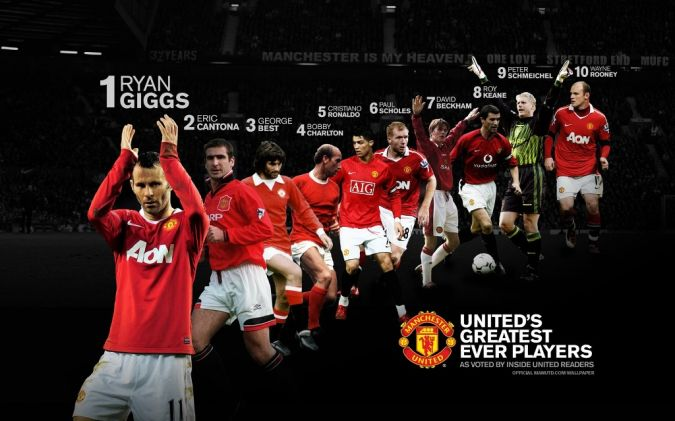Manchester-United. Top 10 Football Teams in the World