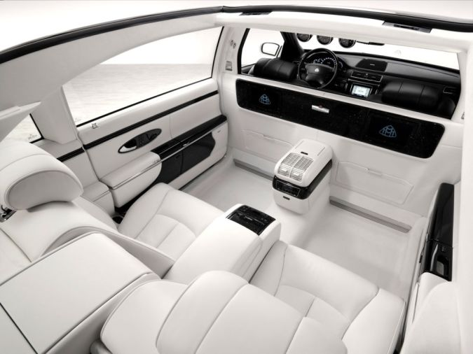 Maybach-Landaulet-Interior Top 10 Most Expensive Cars in the World