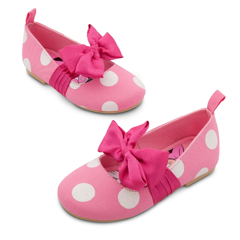 Minnie-Mouse-Flat-Shoes TOP 10 Stylish Baby Girls Shoes Fashion