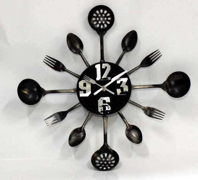 Modern-Wall-Clock-H445- 15 Amazing Wall Clocks Will Be Pieces Of Art In Your Home