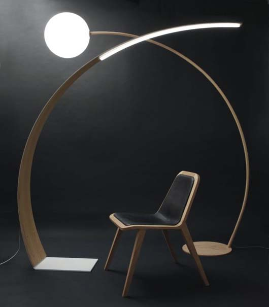Modern-Wooden-Floor-Lamp-Design-With-Oak-Concept Choosing The Perfect Side Lamp For Your Home