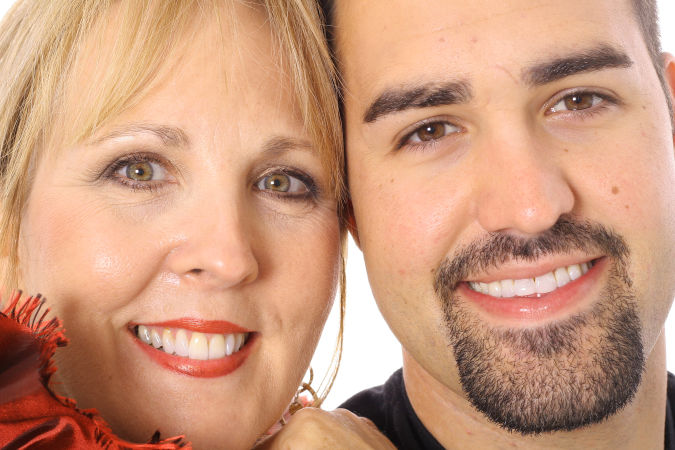 Mother-and-son-after-teeth-whiting Whitening Your Teeth At Home