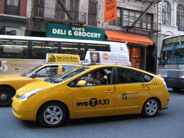 NYC_Hybrid_Taxi Most Popular Means Of Transportations in Different Countries