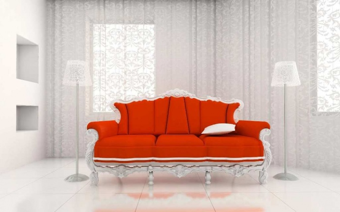 Orange Sofas Living Room Best Home Decors64 Discover the Furniture Trends for 2014