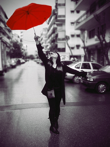 Parapluie-rouge-Ira-Gelb-photopin Umbrellas Became Popular Among Women, Men And Even Kids
