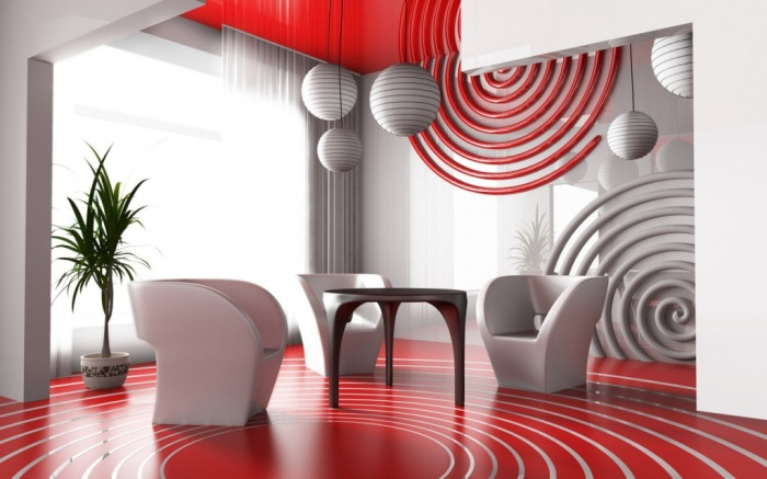 Patterned-living-room-decor What Are the Latest Home Decor Trends?