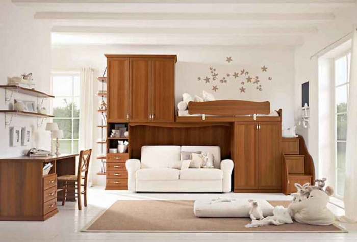 Photos-Children-Bedroom-Design-by-Arcadia-3 11 Tips on Mixing Antique and Modern Décor Styles