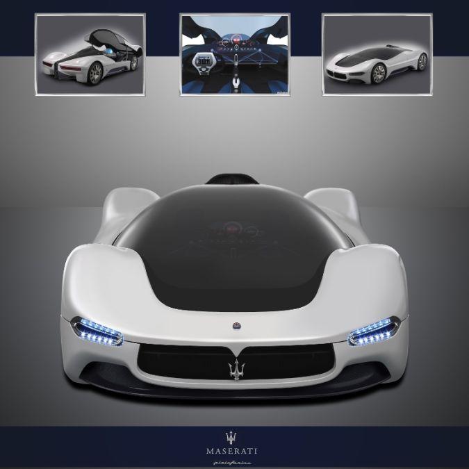 Pinifarina_Maserati_Birdcage_by_Nylaian 30 Creative and Breathtaking Car Design Ideas