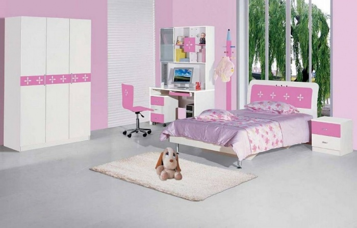 Pink-Children-Bedroom-Furniture-Design 11 Tips on Mixing Antique and Modern Décor Styles