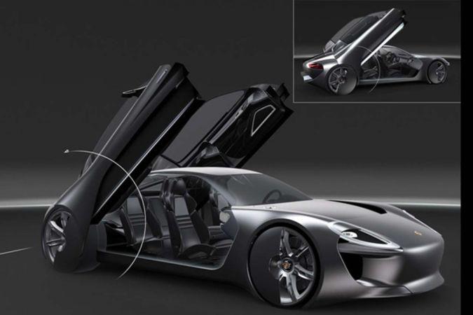 Porsche-929-design-study-7 30 Creative and Breathtaking Car Design Ideas