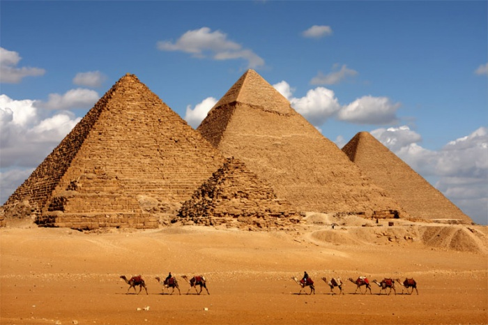 Pyramids-of-Egypt1 Egyptian Pyramids Architecture